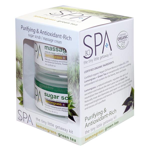 Lemongrass + Green tea - Kit Getaway 8oz